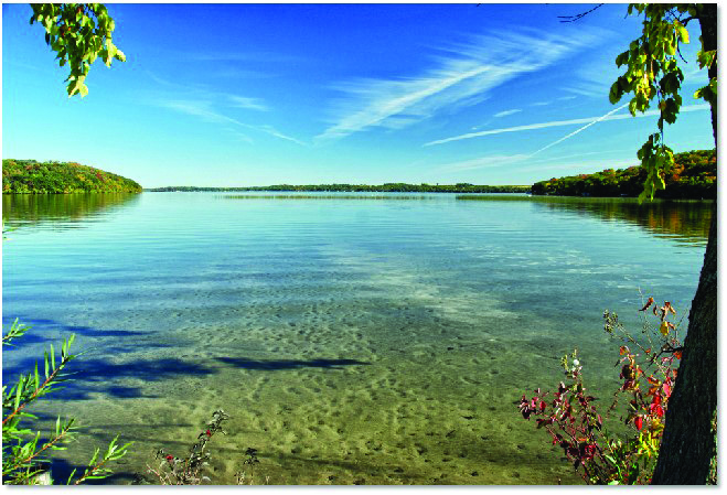 GLSD is implementing DNR approved lake management plan (LMP)